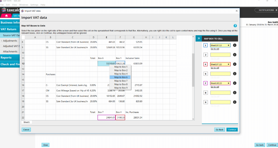 Taxcalc software for making tax digital for small businesses
